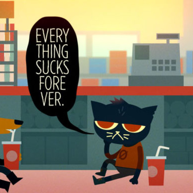 Angry, Angry Cat: Night In The Woods