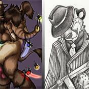 Kwik: Digital and Traditional anthro art (Kwik on FA)