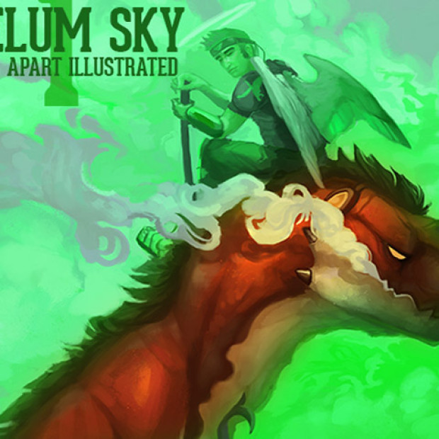 Of Demons, Dragons, and Souls: Caelum Sky