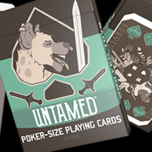 Diamond (but not Spade) Dogs: Untamed Playing Cards